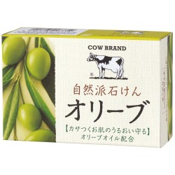 Cow Style,COW BRAND Olive Soap 100g,green,4901525007610 image here