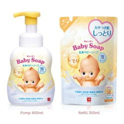 COW QP Baby body Soap Yellow 400ml image here