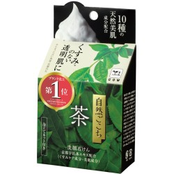 Cow Style,Shizengokochi Facial Soap Green Tea,green,4901525002288 image here