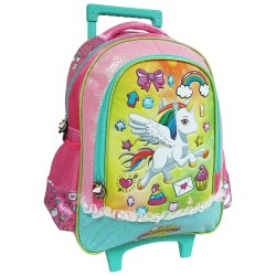 Creative Gear,Buttercup Creative Gear School Bag Trolley for Girls (TRO-BUTTERCUP16),pink,TRO-BUTTERCUP16 image here