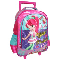 Creative Gear,Sweet As Bubble Creative Gear School Bag Trolley for Girls (TRO-SWEET16),pink,TRO-SWEET16 image here