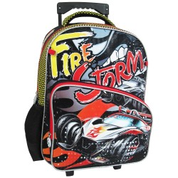 Creative Gear,Fire Storm Creative Gear School Bag Trolley for Boys (TRO-FIRESTORM16),black,TRO-FIRESTORM16 image here