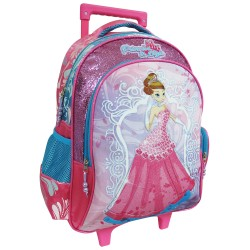 Princess In Style Creative Gear School Bag Trolley for Girls (TRO-PIS16) image here