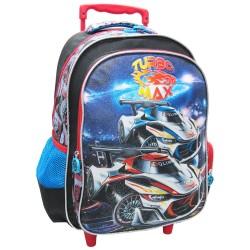 Turbo Max Creative Gear School Bag Trolley for Boys (TRO-TURBOMAX16) image here