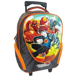 Creative Gear,Infinite Evolution Creative Gear School Bag Trolley for Boys (TRO-INFINITE16),orange,TRO-INFINITE16 image here