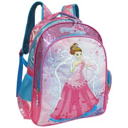 Creative Gear,Princess In Style Creative Gear School Backpack for Girls (BP-PIS16),pink,BP-PIS16 image here