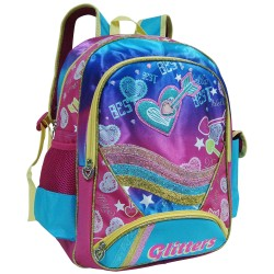 Creative Gear,Glitters Creative Gear School Backpack for Girls (BP-GLITTERS16),pink,BP-GLITTERS16 image here