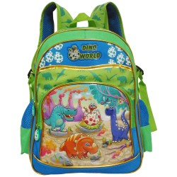 Creative Gear,Dino World Creative Gear School Backpack for Boys (BP-DINO16),green,BP-DINO16 image here