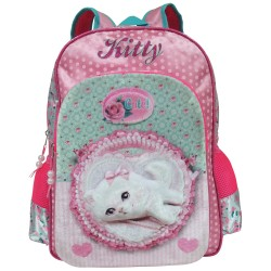Kitty Creative Gear School Backpack for Girls (BP-KITTY16) image here