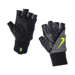 NIKE, WOMEN'S FIT TRAINING GLOVES, Black, N.LG.B0.641.MD image here
