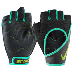 NIKE, MEN'S RENEGADE TRAINING GLOVES, Black, N.LG.B5.031.LG image here