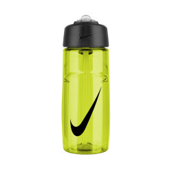 NIKE, T1 FLOW SWOOSH WATER BOTTLE, Yellow, N.OB.A3.713.16 image here