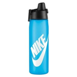 NIKE, CORE HYDRO FLOW JUST DO IT SWOOSH WATER BOTTLE, Blue,N.OB.C1.413.24 image here