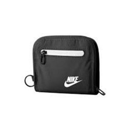 NIKE, HERITAGE SMALL WALLET, Black, N.IA.C7.010.NS image here