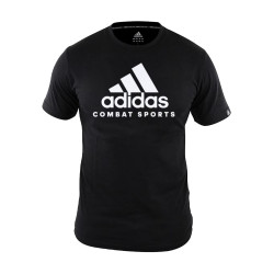 Adidas Combat Sports, COMMUNITY T SHIRT, Black, AC-ADICTCS-BKWH image here
