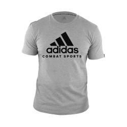 Adidas Combat Sports, COMMUNITY T SHIRT, Grey, AC-ADICTCS-GYBK image here