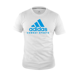 Adidas Combat Sports, COMMUNITY T SHIRT, White, AC-ADICTCS-WHBL image here