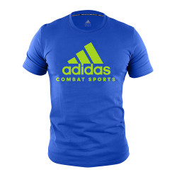 Adidas Combat Sports, COMMUNITY T SHIRT, Blue, AC-ADICTCS-BLGN image here