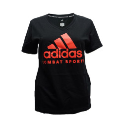 Adidas Combat Sports, COMMUNITY WOMEN T SHIRT, Black, AC-ADICTCSW-BKSR image here