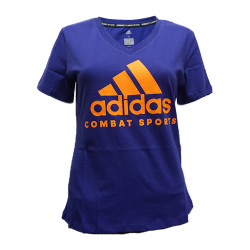 Adidas Combat Sports, COMMUNITY WOMEN T SHIRT, Blue, AC-ADICTCSW-BLOR image here
