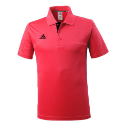 Adidas Combat Sports, PIQUE POLO SHIRT, Red, AC-ADITS332-RDBK image here
