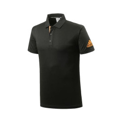 Adidas Combat Sports, PIQUE POLO SHIRT, Black, AC-ADITS332-BKOR image here