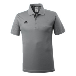 Adidas Combat Sports, PIQUE POLO SHIRT, Grey, AC-ADITS332-GYBK image here