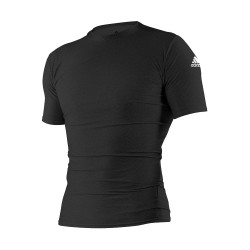 Adidas Combat Sports, RASH GUARD S/S,black, AC-ADITS312-BLAK black image here