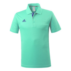 Adidas Combat Sports, PIQUE POLO SHIRT, Blue Green, AC-ADITS332-HGRS image here