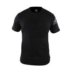 Adidas Combat Sports, COMMUNITY T SHIRT, Black, AC-ADITSG2/V2-BKWH image here