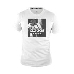 Adidas Combat Sports, COMMUNITY T SHIRT, White, AC-ADIBGT01-WHIT image here