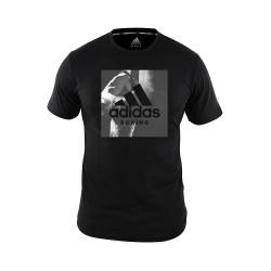 Adidas Combat Sports, COMMUNITY T SHIRT, Black, AC-ADIBGT01-BLAK image here
