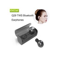 QCY,New Original QCY Q29 Pro V4.2 Original English Version Bluetooth Noise Reduction Earphone Wireless Black,black,QCY-Q29-BLK image here