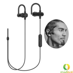 QCY QY11 Original Wireless Bluetooth Sports Headset with Mic/Volume Control/Remote (Black) image here