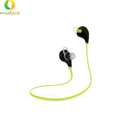 QCY QY7 Original 80dB SweatProof Bluetooth Sporty Headset -Black/Green image here