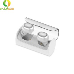 New Original QCY Q29 Pro V4.2 Original English Version Bluetooth Noise Reduction Earphone Wireless White image here