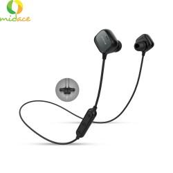 QCY M1 Pro AptX HiFi Wireless Bluetooth Magnet Adsorption IPX4 Waterproof Sports Headphone Black image here