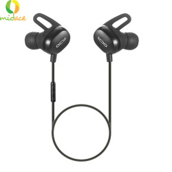 QCY E2 New Sport Bluetooth Earphone Sweat Proof with APT-X & Mic 10.5hr Playtime Black image here