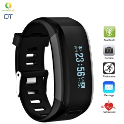 DTF1 OLED Diving Waterproof Smartband Elegant Black image here