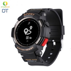 DTF6 IP68 New Rugged Water Resistance Smart Watch for Outdoor Sports Activities Smartwatch Blacl image here