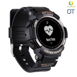 DTF6 IP68 New Rugged Water Resistance Smart Watch for Outdoor Sports Activities Smartwatch Silver image here
