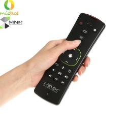 MINIX NEO A3, QWERTY Keyboard for Android and Six-Axis Gyroscope Remote with Voice Input. image here