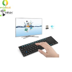 MINIX NEO K2 is a Wireless Keyboard and Touchpad intended for PCs  Black image here