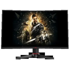 """New HKC-M24G1F 24"""" Curved HDMI LED Monitor with AMD Freesync Black image here"""