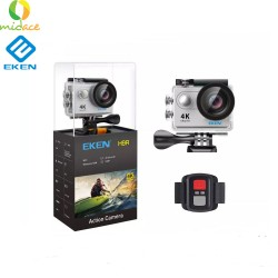 New Eken H9R Version 4.0 Action Camera Remote Ultra FHD 4K WiFi 1080P 60fps 2.0 LCD 170D Go Waterproof Pro Camera Silver image here
