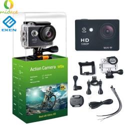 Midace W9s by Eken Action Camera Full HD Wi-Fi Waterproof Sports Camera Silver image here
