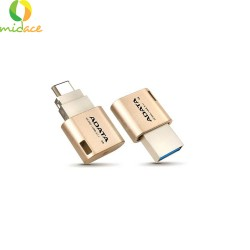 Adata Type-C OTG 16GB USB 3.1 Flash Drive for Smartphones, Tablet, and PC's Gold image here
