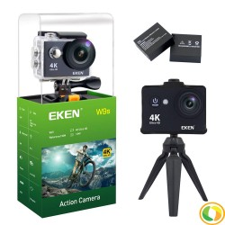 Midace W9s by Eken Action Camera Full HD Wi-Fi Waterproof Sports Camera Black with Extra Battery (2PCS) image here