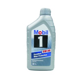 Mobil 1 Excellent Wear Protection 5w-50 1Ltr image here