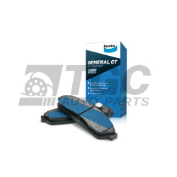 Bendix, Brake Pads FRT TOYOTA CORONA (ALL) 1973, DB 216GCT  image here
